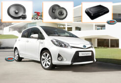 Toyota Yaris Audio Upgrade Speakers Vervangen Verbeteren