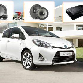 Toyota Yaris Audio Upgrade Speakers Vervangen Verbeteren