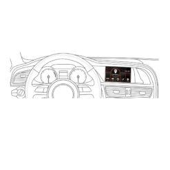 Adaptiv ADV-AU2 Audi A4-A5 Navigatie