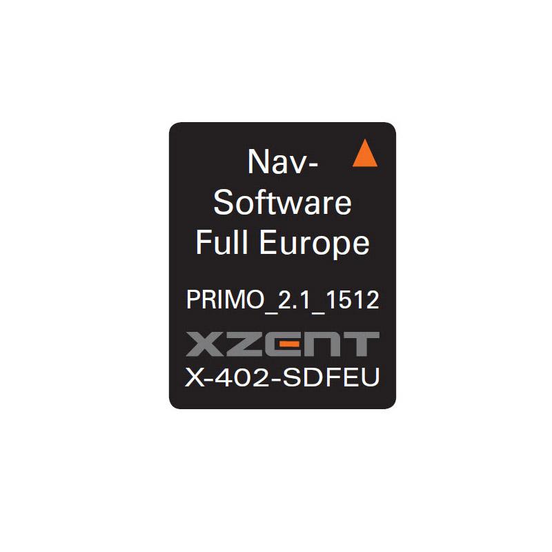 Xzent X-402 navigatie software-0