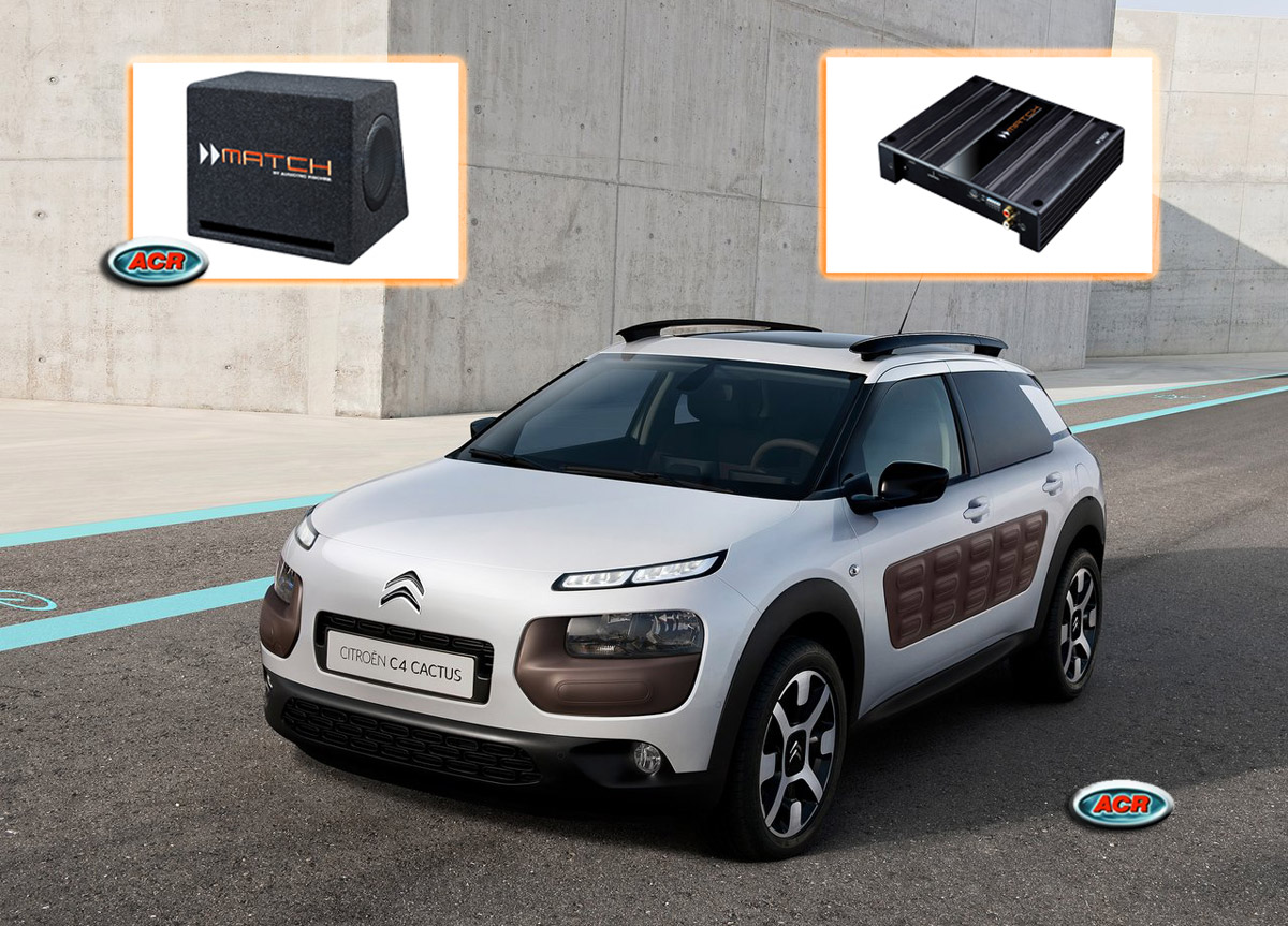 Citroen C4 Cactus Audio Upgrade speakers luidsprekers