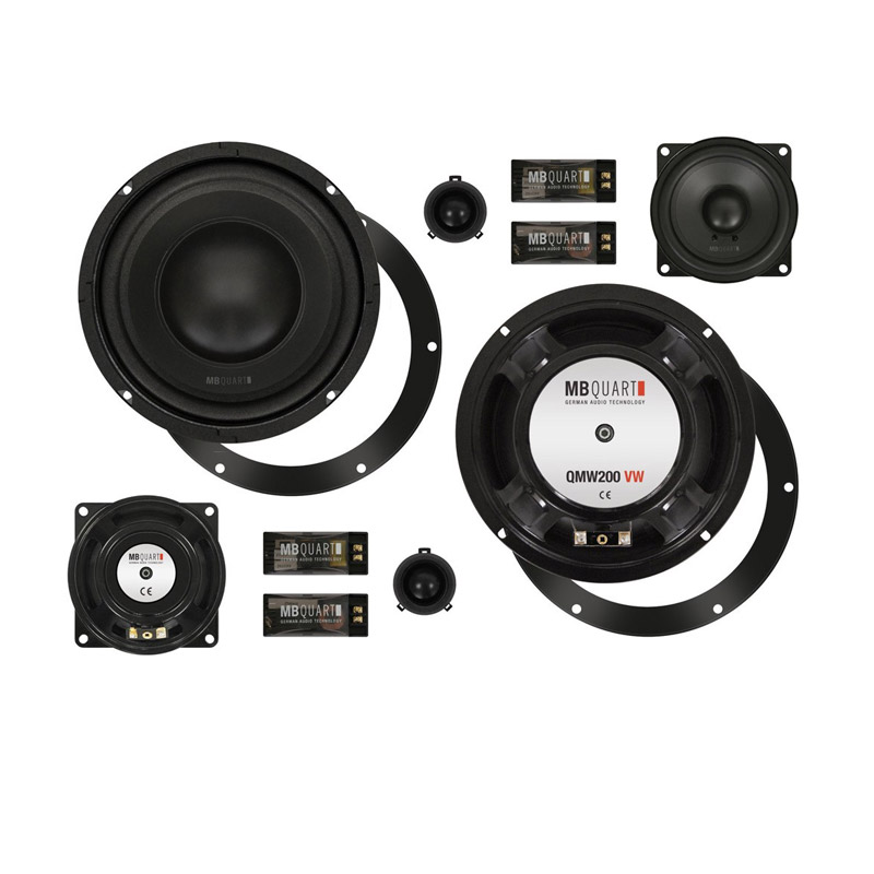 MB Quart QM200.3 GOLF V speakers VW