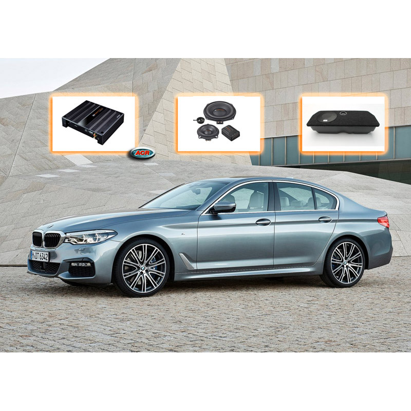 BMW 5-serie Sedan F10 Ultimate Audio Upgrade