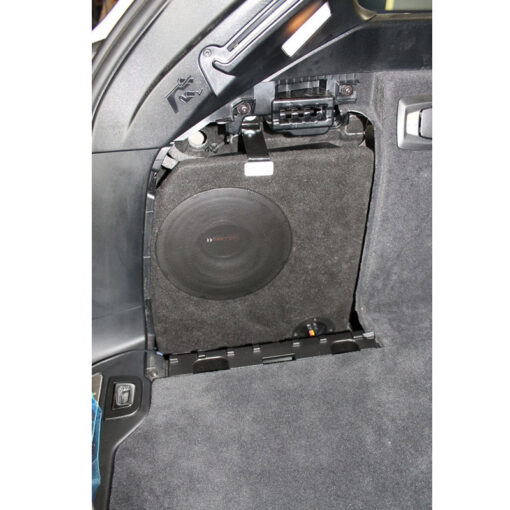 BMW 5-serie Touring F11 custom fit subwoofer upgrade
