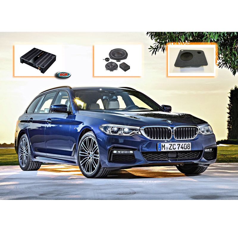 BMW 5-serie Touring F11 Advanced Audio Upgrade