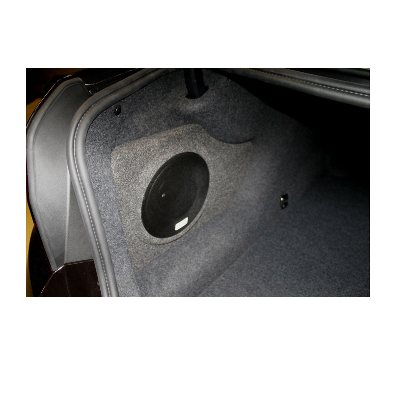 BMW F10 custom fit subwoofer Upgrade