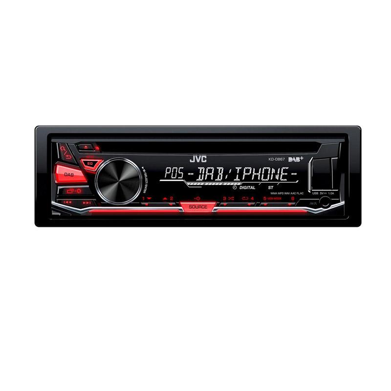 JVC KD-DB67E autoradio dab usb