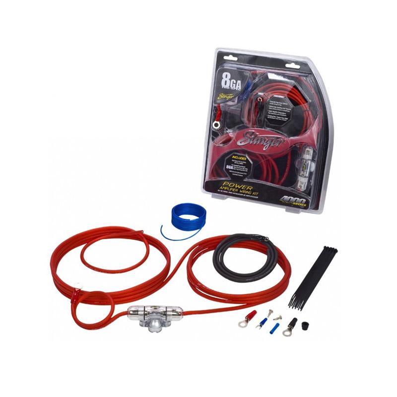 Stinger Electronics SK4281 power kabelset caraudio auto voedingskabel versterker kabel accu