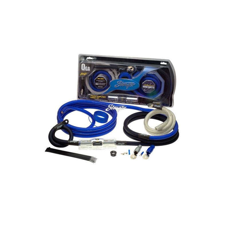 Stinger Electronics SK6201 50mm power kabelset caraudio auto voedingskabel versterker kabel accu