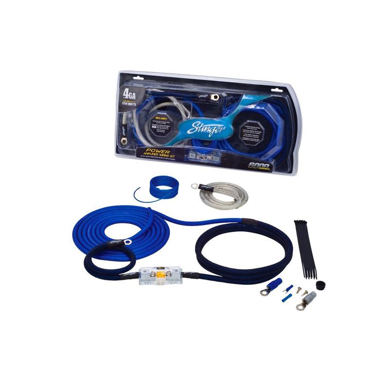 Stinger Electronics SK6241 21mm power kabelset caraudio auto voedingskabel versterker kabel accu