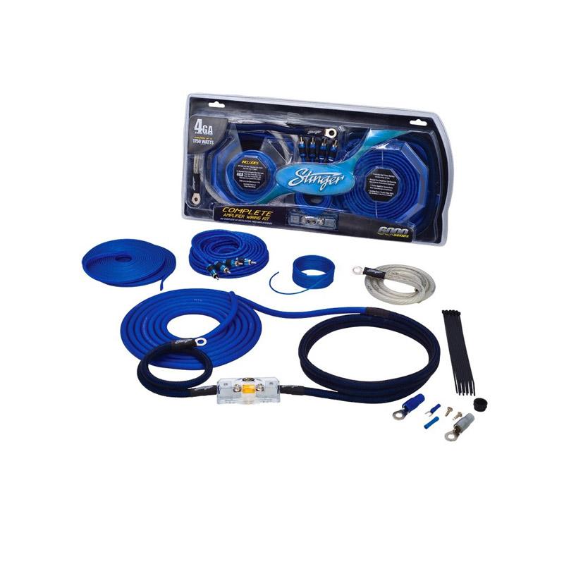Stinger Electronics SK6641 21mm power kabelset caraudio auto voedingskabel versterker kabel accu