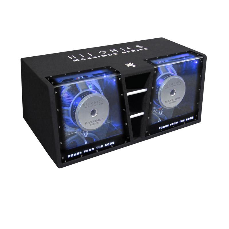 Hifonics MXZ12DUAL subwoofer kist basbox auto enclosure