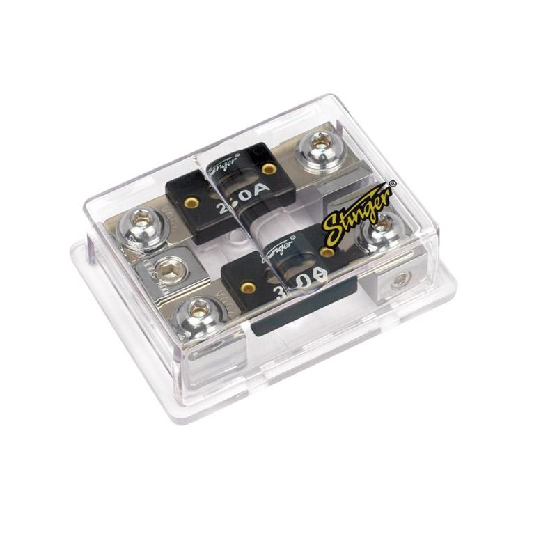 Stinger Electronics SPD5212 caraudio zekeringhouder verdeelblock ANL zekering