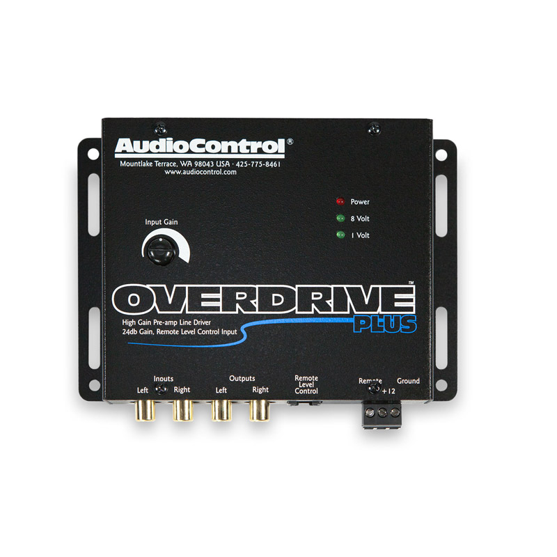 Audiocontrol Overdrive Plus 2 channel line driver caraudio hifi