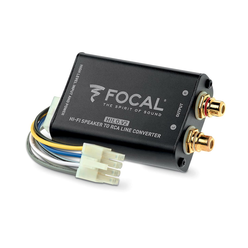 Focal HILO.V2 high to low converter RCA speakers