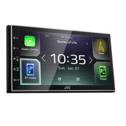 JVC KW-M741BT 2din autoradio apple carplay android auto smartphone