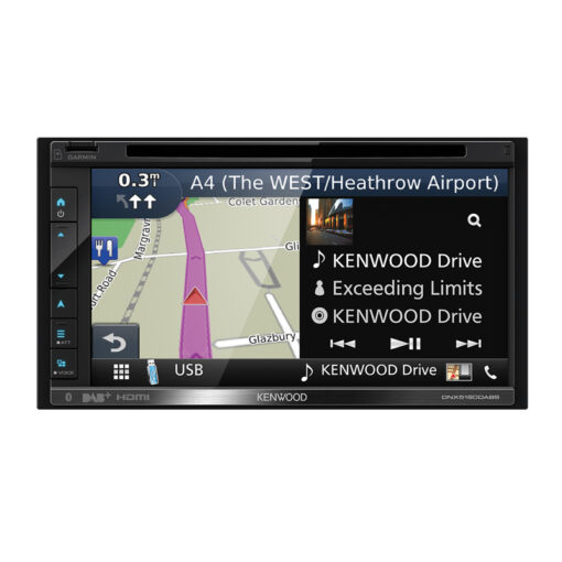 Kenwood DNX5180DAB navigatie carplay