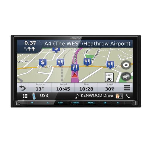 Kenwood DNX8180DABS navigatie afneembaar front carplay hdmi
