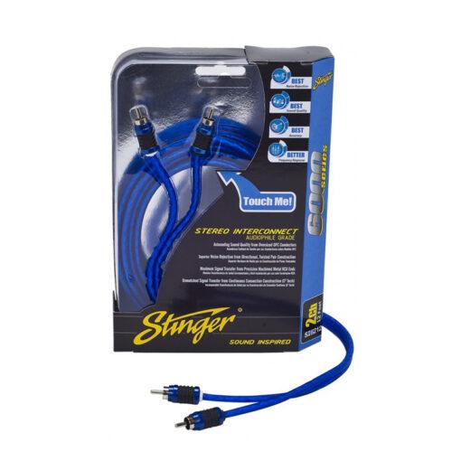 Stinger-SI6217 RCA-Tulp kabel auto