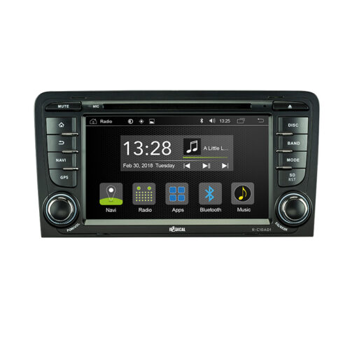 Radical R-C10AD1 autoradio audi a3 sportback 8p 8pa