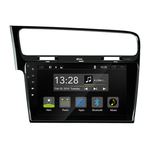 Radical R-C10VW2 autoradio navigatie VW golf 7 volkswagen