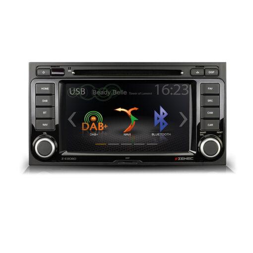 Zenec Z-E2060 VW T5 autoradio multimedia scherm