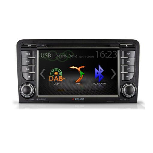 Zenec Z-E3150 navigatie audi a3