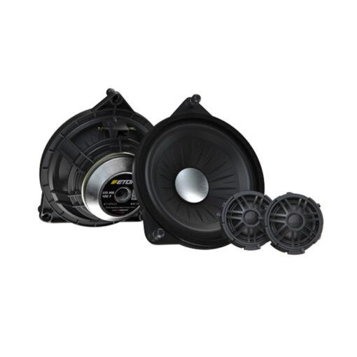 Eton MB100F Mercedes speakers upgrade